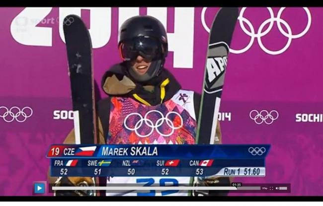 Czech Sport Guru Marek Mario Skála Olympijské hry Soči 2014 slopestyle freeskiing výsledky