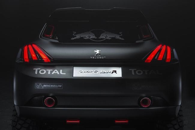 Úžasné linie nového Peugeotu 2008 Total DKR Czech Sport Guru