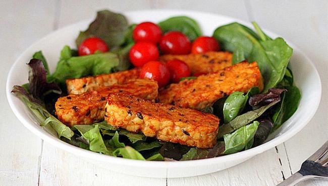 Tempeh je maso pro vegetariány strava která nahradí maso a je vhodná pro zdravý životní styl Czech Sport Guru