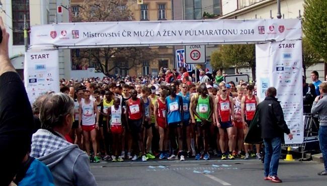 pvp5 - před startem 2 - Pardubický půlmaraton - Běh Mistrovství mužů a žen -  Czech Sport Guru
