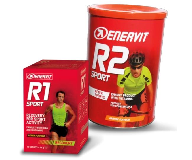 R1 a R2 Sport Enervit - Czech Sport Guru